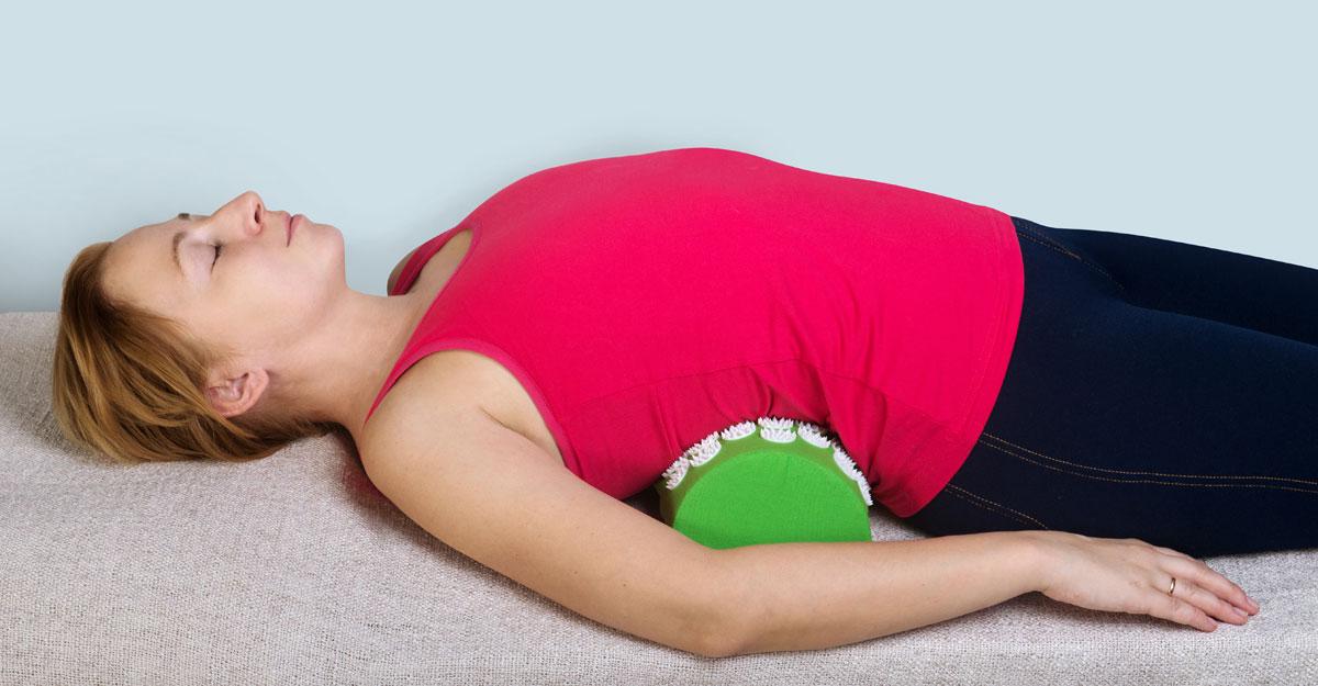 полотенце под спину для похудения