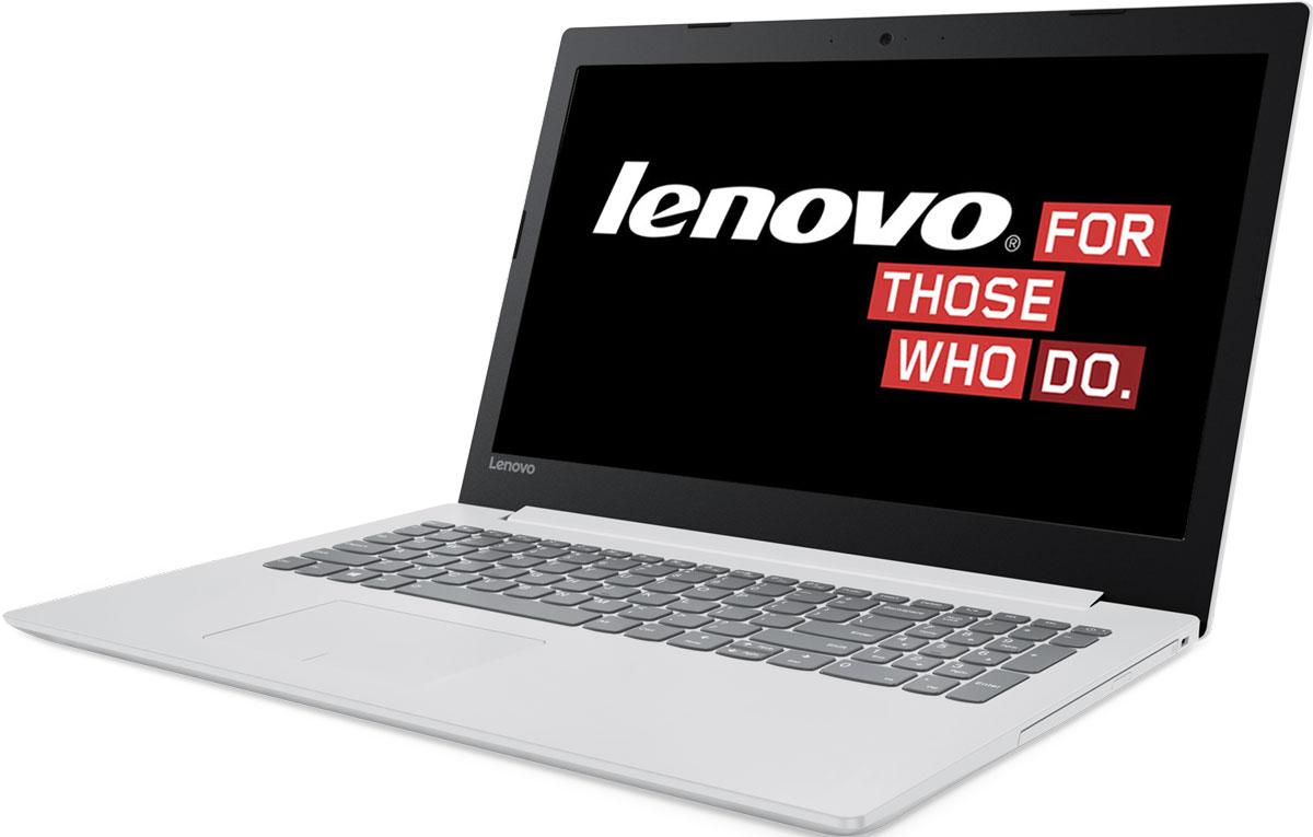 15.6 Ноутбук Lenovo IdeaPad 320-15IAP 80XR0024RK, белый цена