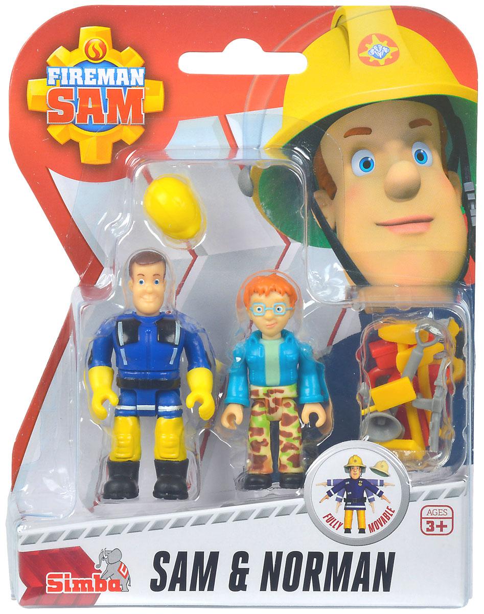 Dickie Toys Набор фигурок Sam & Norman игровой набор dickie toys playlife набор для перевозки лошадей
