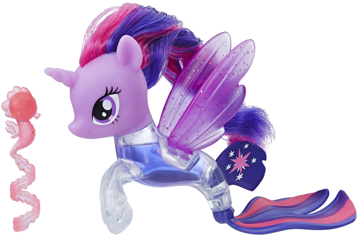 My Little Pony Фигурка Twilight Sparkle Flip & Flow Seapony цены онлайн