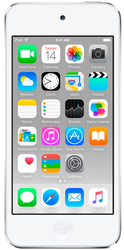 MP3 плеер Apple iPod Touch 128GB, White Silver аудио apple ipod touch 128gb голубой