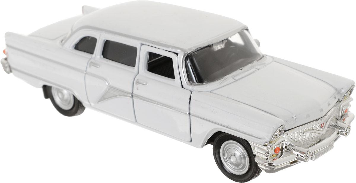Autotime Модель автомобиля ГАЗ-13 Чайка Гражданская версия цвет белый игрушка технопарк газ 13 чайка милиция 6410 d x600 h09082 r