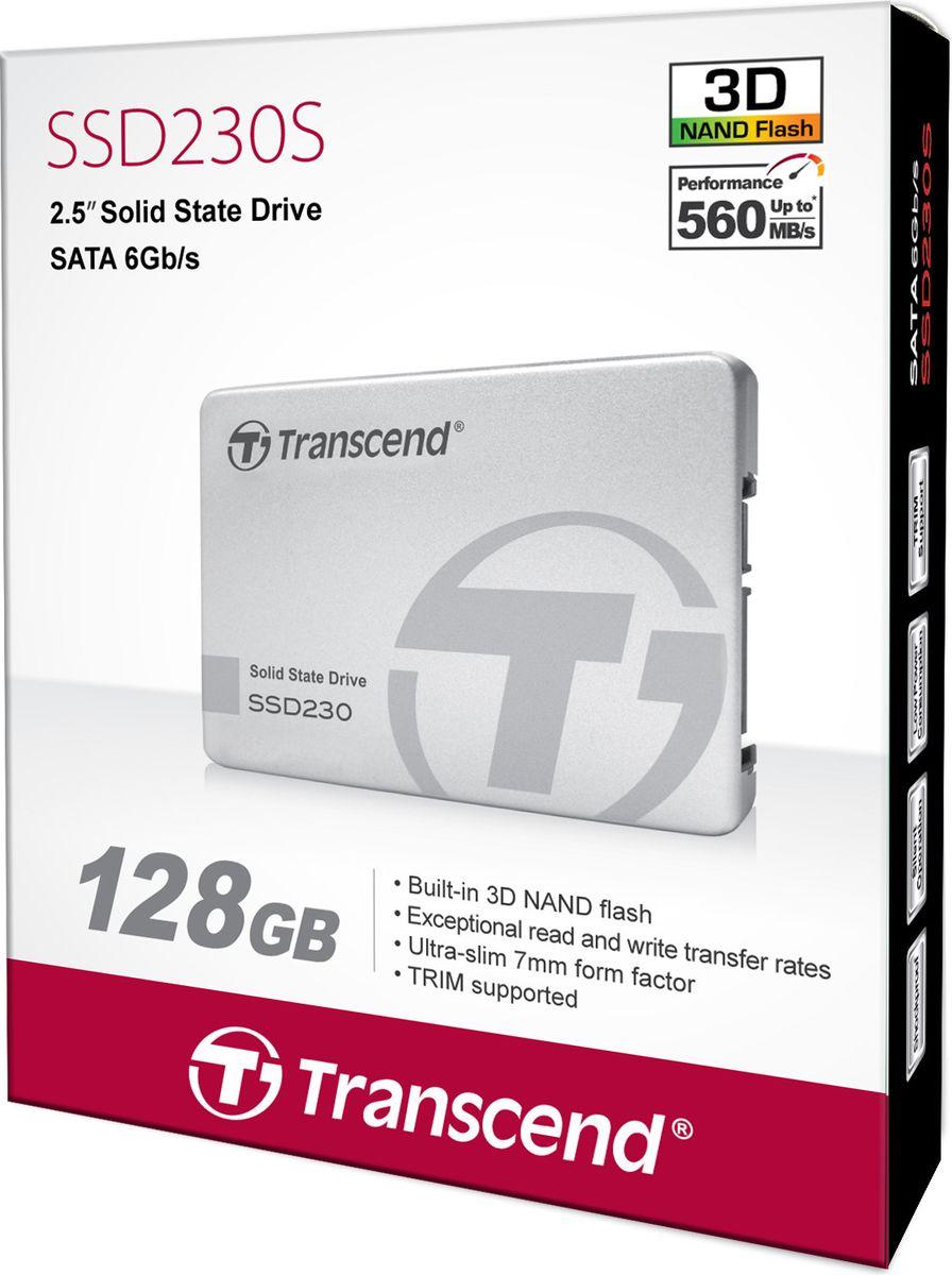SSDдиск Transcend SSD230S 128 ГБ