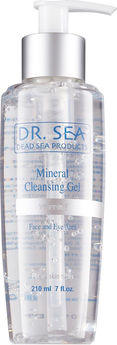 Dr.  SeaГель для лица и глаз, очищающий, минеральный, с витамином E, 210 мл Dr. Sea