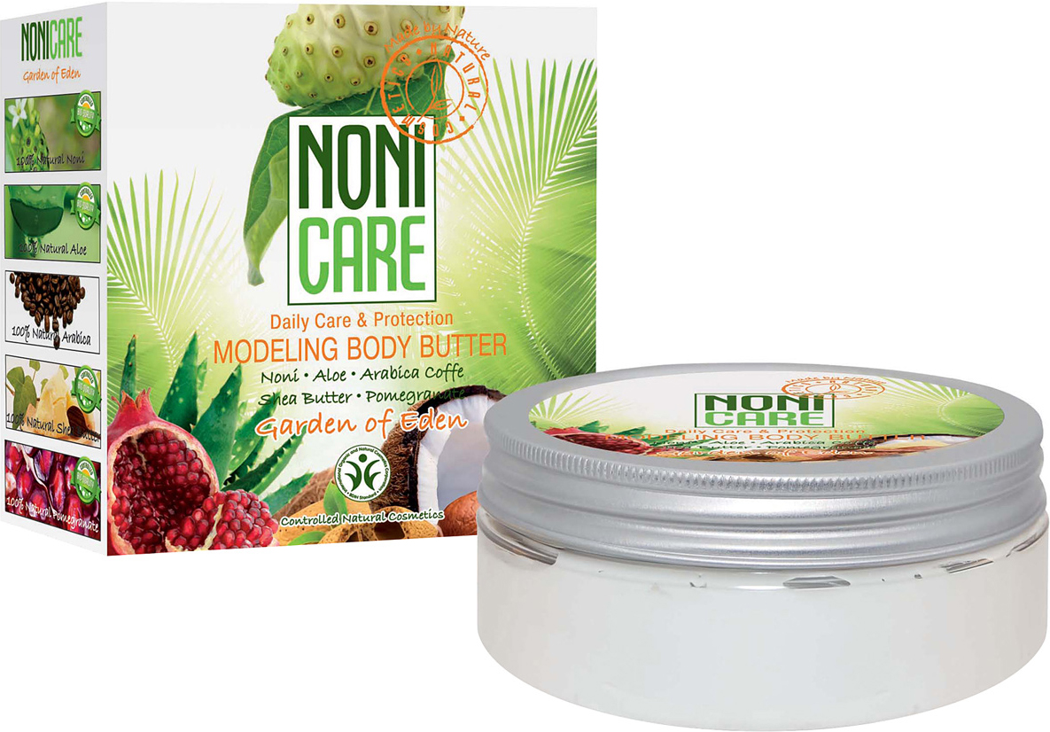 Nonicare Моделирующие масло с эффектом похудения Garden Of Eden - Modeling Body Butter 200 мл nonicare