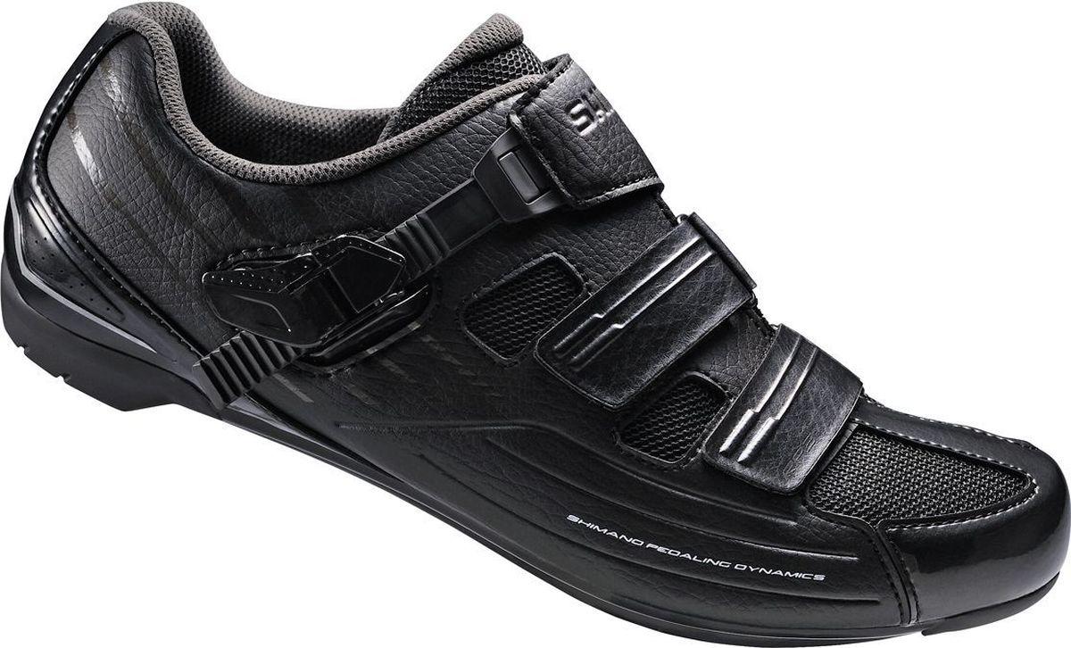 """Велотуфли мужские Shimano """"SH-RP300"""", цвет: черный. Размер 42"""