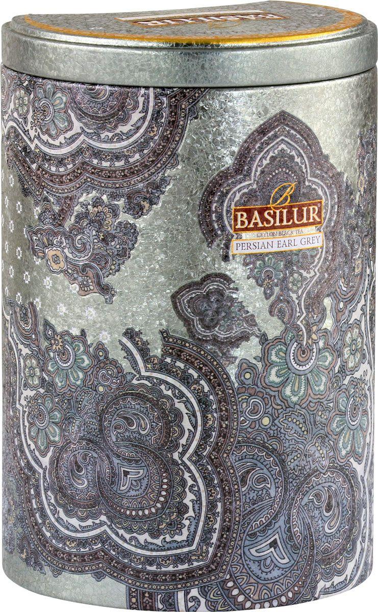 Фото - Basilur Persian Earl Grey чай черный листовой с бергамотом, 100 г greenfield earl grey fantasy черный листовой чай 200 г