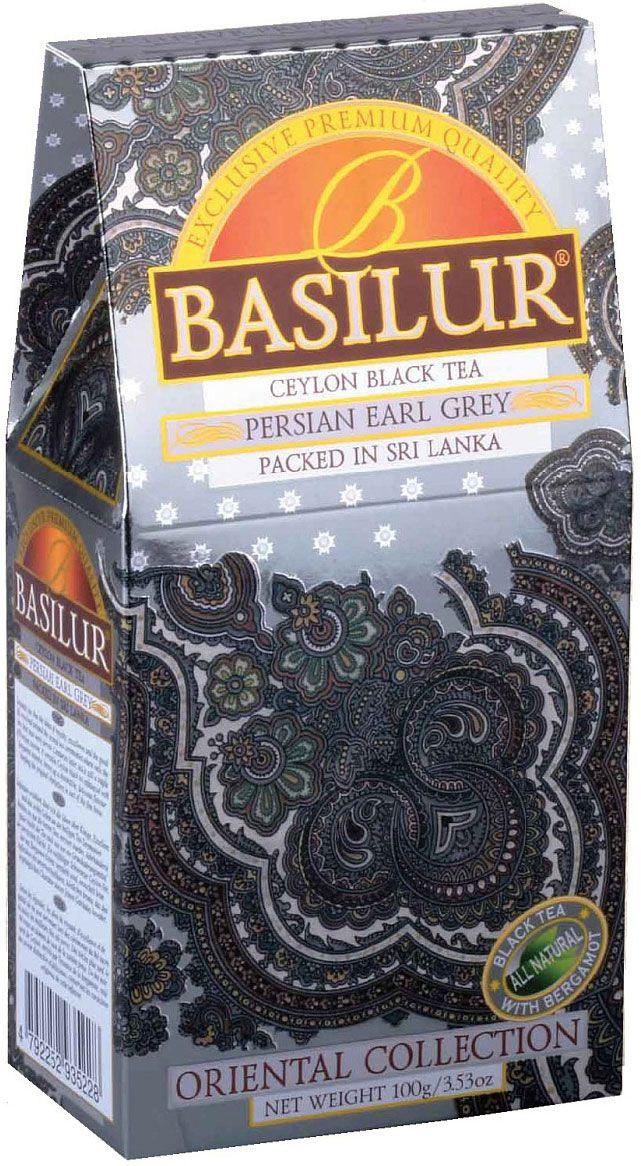 Basilur Persian Earl Grey черный листовой чай, 100 г basilur persian earl grey чай черный листовой с бергамотом 100 г