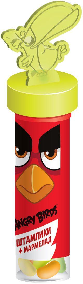 цена на Конфитрейд Angry Birds Movie мармелад в тубе и штампики, 6 г
