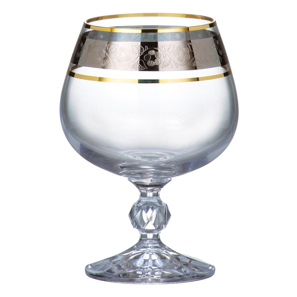 Набор бокалов для бренди Bohemia Crystal Клаудия, 250 мл, 6 шт. 40149/43249/250 набор фужеров 180мл 6шт клаудия 43249