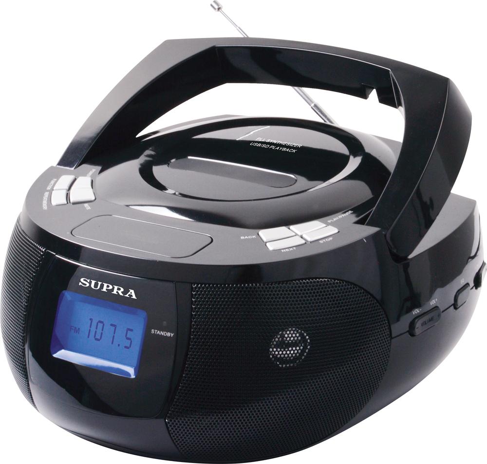 Магнитола Supra BB-33MUS магнитола supra bb 27mus черный