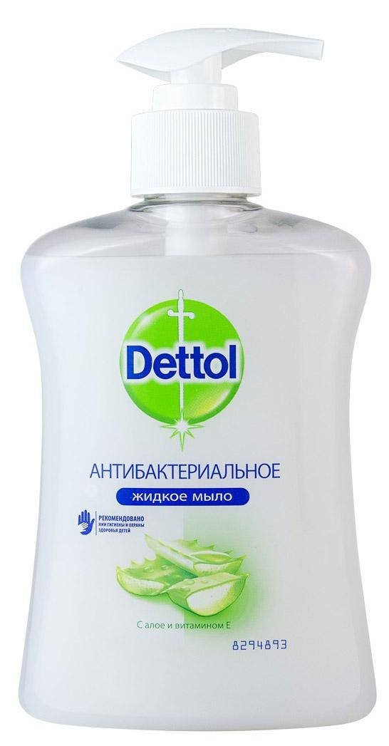 Жидкое мыло Dettol Увлажнение, с алоэ вера и молочными протеинами, 250 мл fa жидкое крем мыло youghurt алоэ вера 250 мл жидкое крем мыло youghurt алоэ вера 250 мл 250 мл