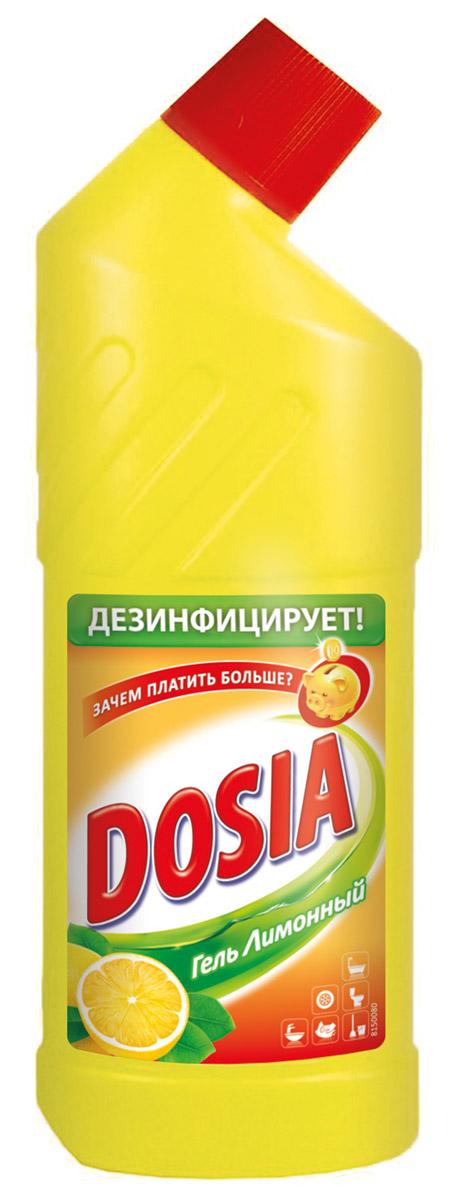 Гель для чистки туалета Dosia, с ароматом лимона, 750 мл7503603Гель Dosia - средство чистящее с дезинфицирующим и отбеливающим эффектом. Убивает микробы. Характеристики: Объем: 750 мл. Производитель: Россия. Товар сертифицирован. Уважаемые клиенты! Обращаем ваше внимание на возможные варьирования в дизайне упаковки. Как выбрать качественную бытовую химию, безопасную для природы и людей. Статья OZON Гид