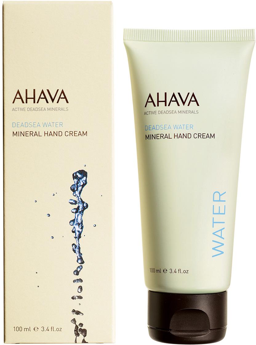 Ahava Deadsea Water М Минеральный крем для рук 100 мл ahava набор deadsea water крем для рук минеральный 100 мл крем для ног минеральный 100 мл