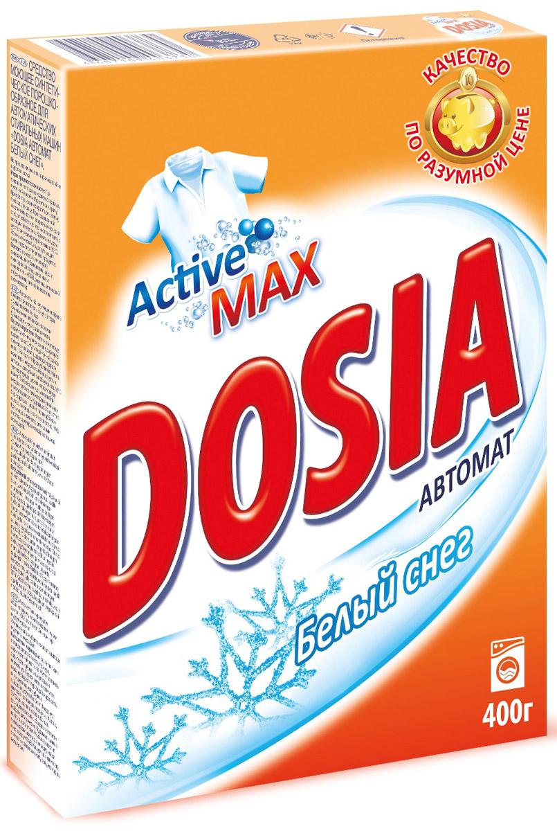 Стиральный порошок Dosia Active 3, автомат, альпийская свежесть, 400 г стиральный порошок dosia active 3 белый снег автомат 400 г