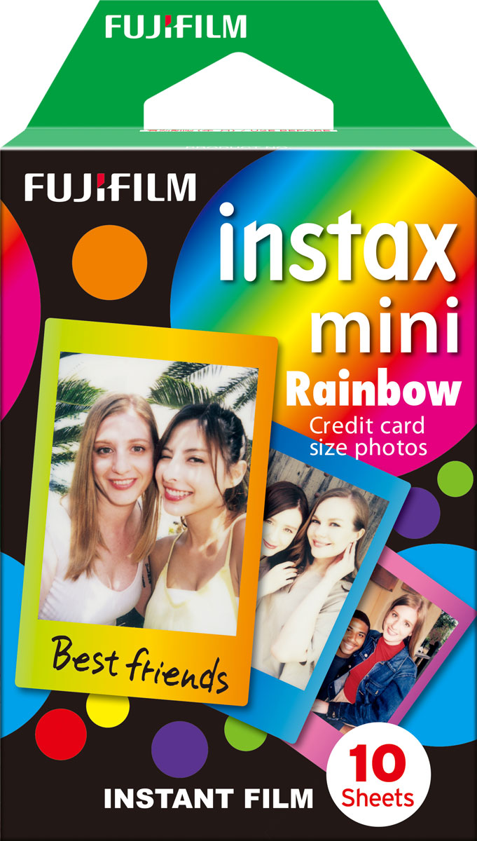 Instax Mini Rainbow WW 1 фотопленка фотопленка instax mini comic ww 1