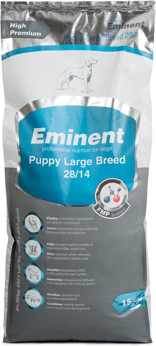 """Корм сухой Eminent """"Суперпремиум. Puppy Large Breed"""" для щенков крупных и гигантских пород, 15 кг"""