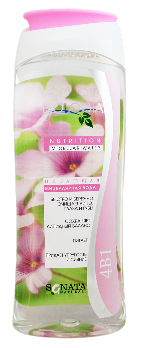 Sanata Мицеллярная вода Biologia питание, 400 мл sanata крем для рук sanata cosmetics роза 100 мл