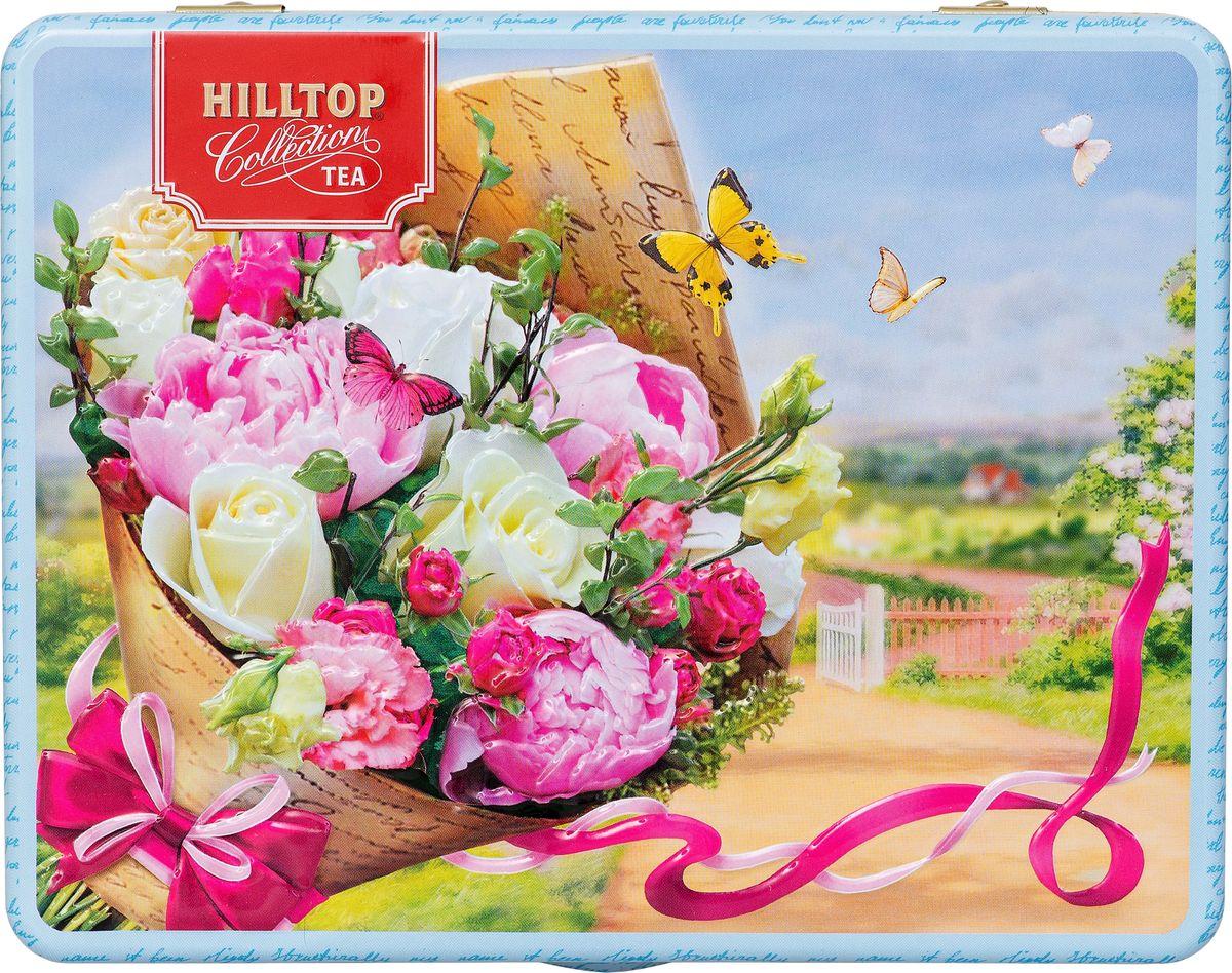 Фото - Hilltop Пышный букет подарочный набор, 4 шт по 50 г hilltop романтический пейзаж подарочный набор 3 шт по 50 г