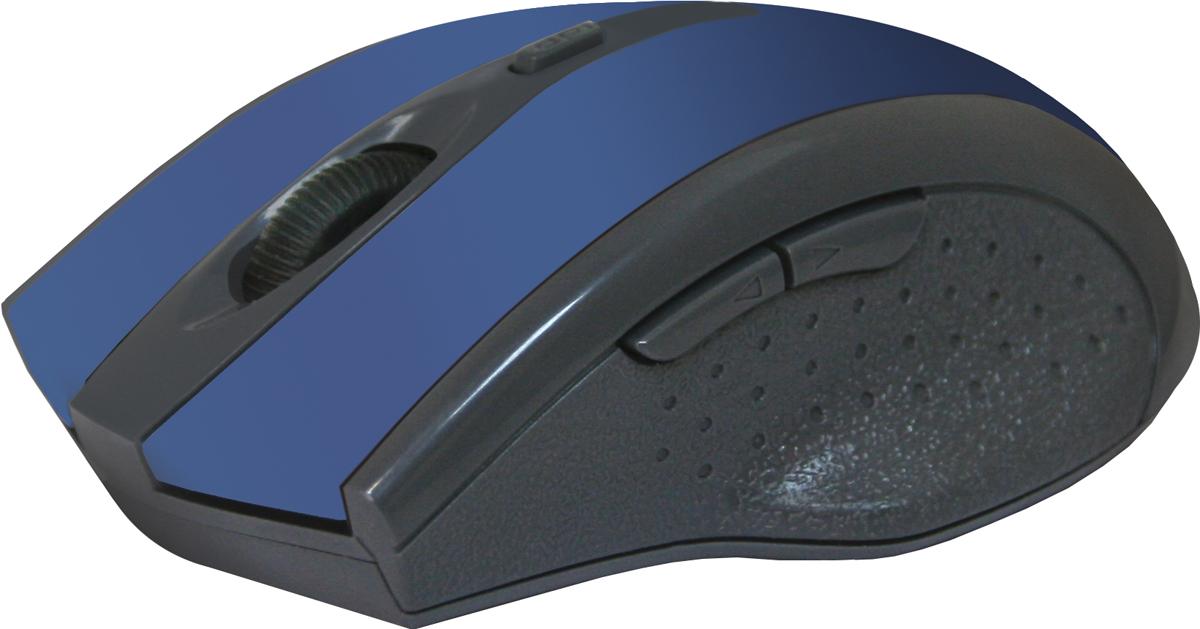Мышь Defender Accura MM-665, Blue беспроводная оптическая цена