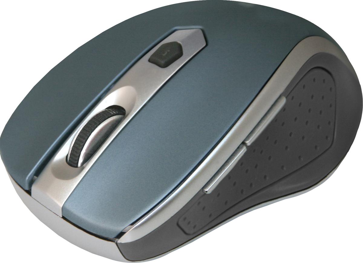 лучшая цена Беспроводная оптическая мышь Defender Safari MM-675 синий,6кнопок,800-1600dpi