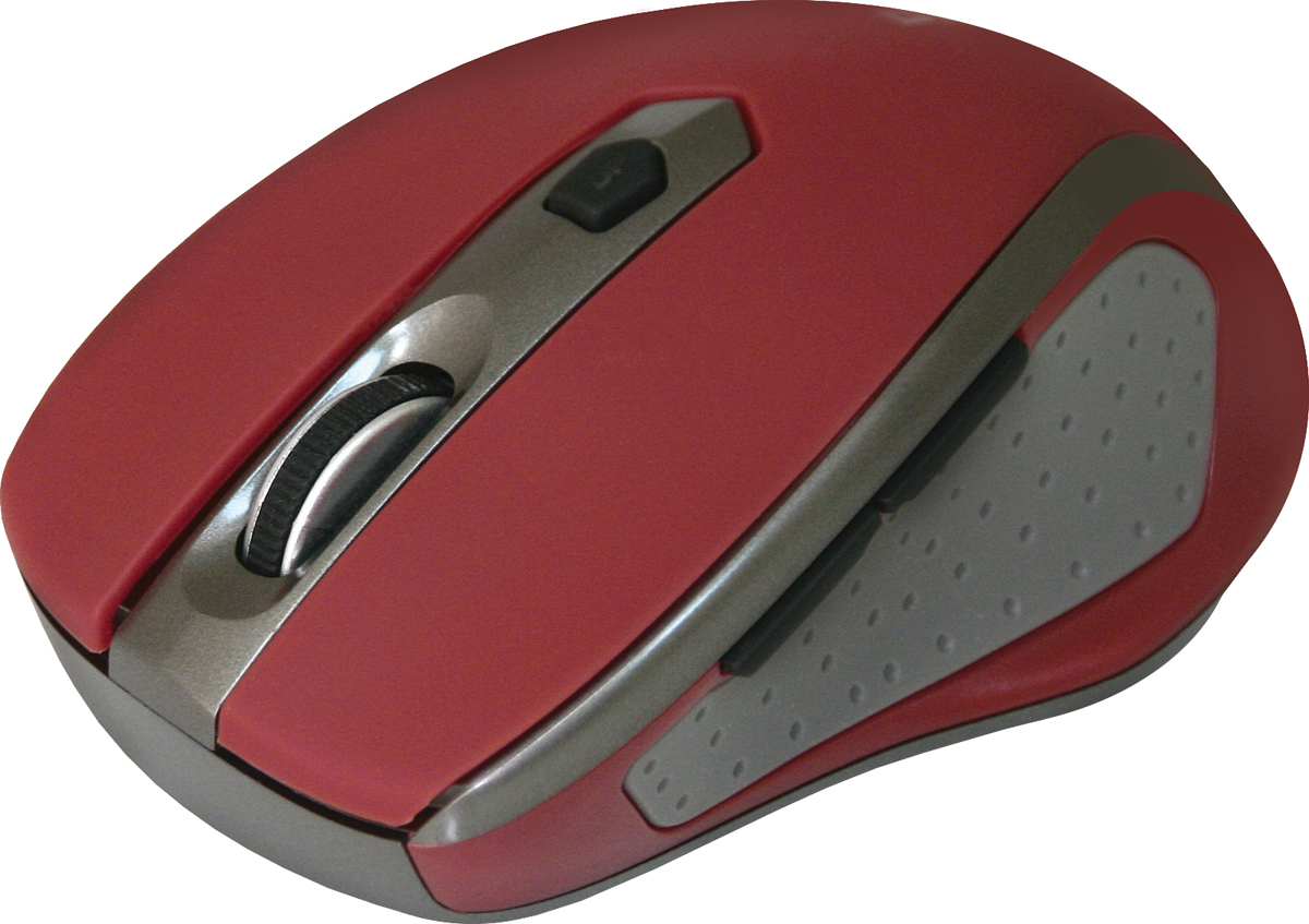 лучшая цена Беспроводная оптическая мышь Defender Safari MM-675 красный,6кнопок,800-1600dpi