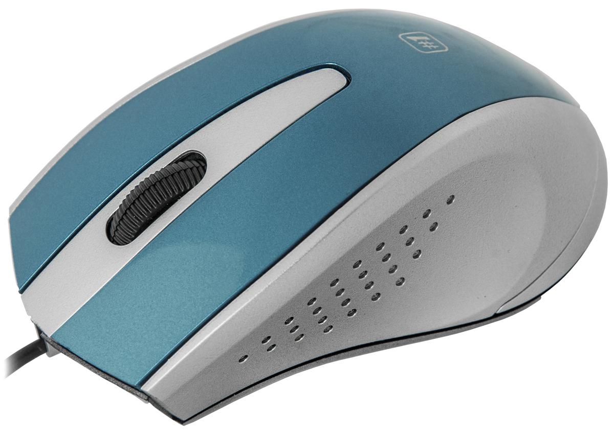 лучшая цена Мышь Defender MM-920, Blue Gray оптическая