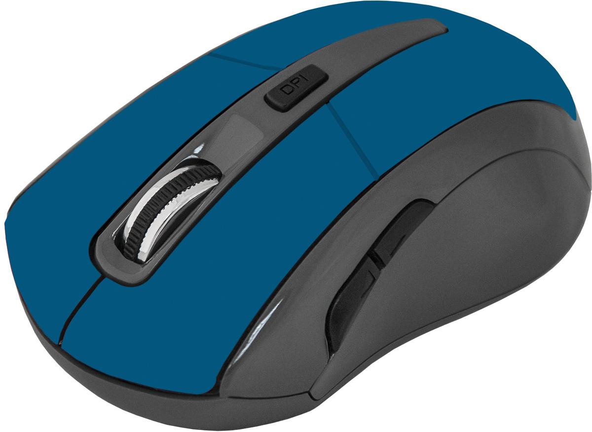 Мышь Defender Accura MM-965, голубой мышь accura mm 965 голубой