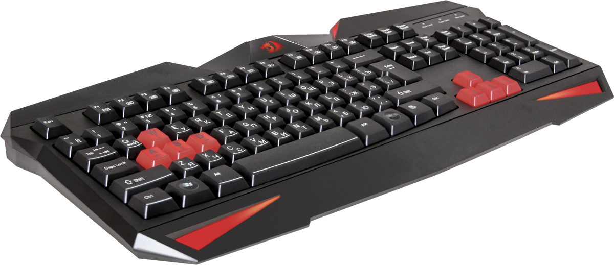 лучшая цена Игровая клавиатура Redragon Xenica RU, Black