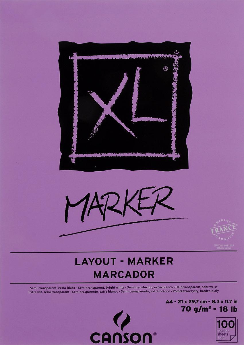 Фото - Canson Альбом для маркера Xl 21 х 29,7 см 100 листов canson альбом для смешанных техник xl mix media 14 8 х 21 см 15 листов