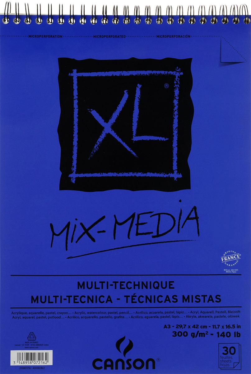 Фото - Canson Альбом для смешанных техник Xl Mix-Media 29,7 х 42 см 30 листов canson альбом для смешанных техник xl mix media 14 8 х 21 см 15 листов