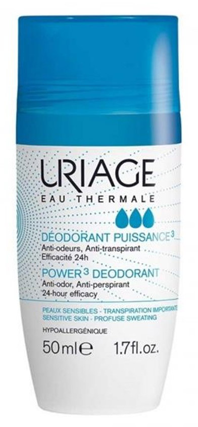 Uriage Дезодорант тройного действия ролик, 50 мл uriage дезодорант отзывы