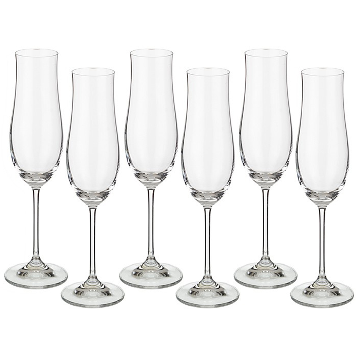 Набор бокалов для шампанского Bohemia Crystal Attimo, 180 мл, 6 шт набор бокалов для шампанского bohemia crystal оливия 190 мл 6 шт