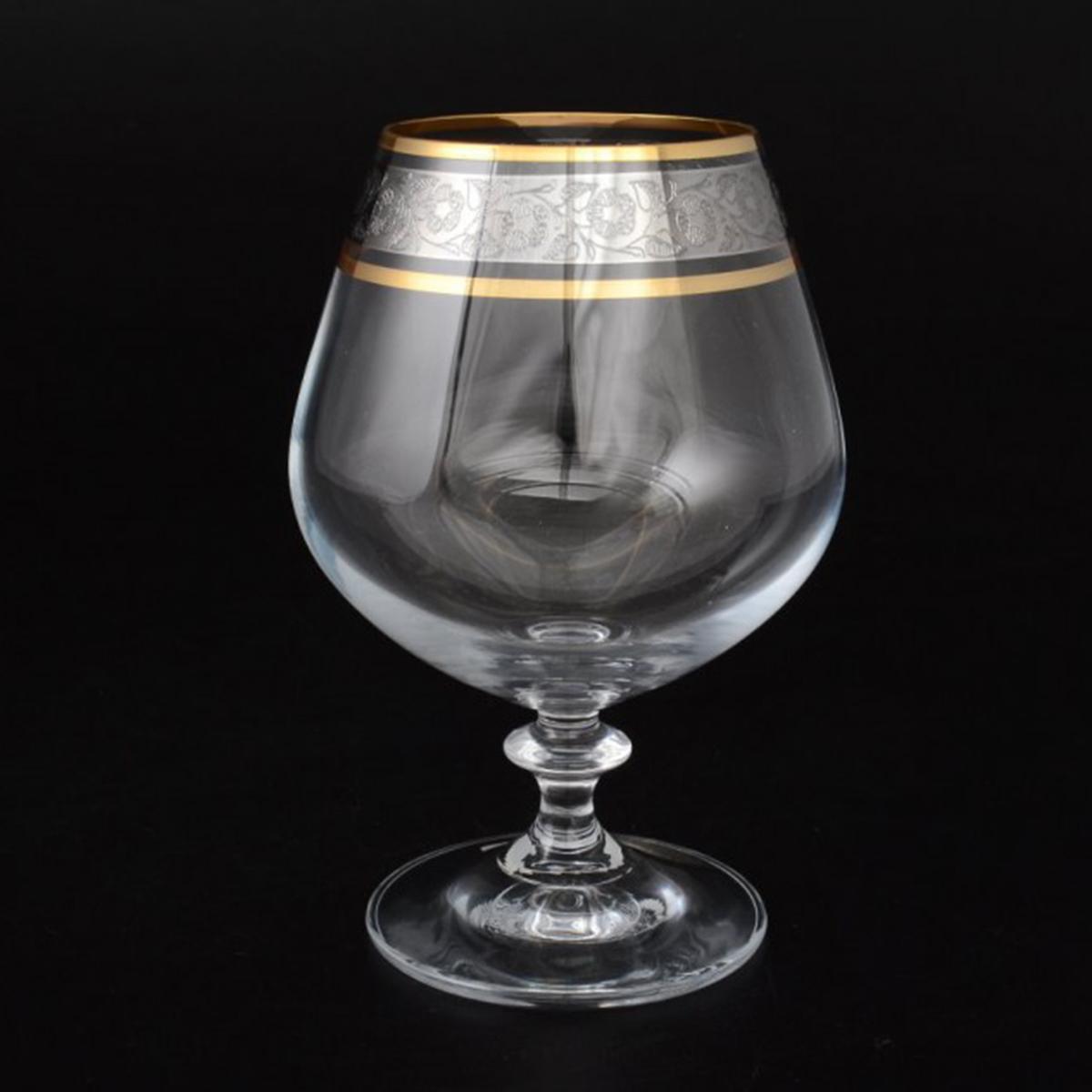 "Набор бокалов для бренди Bohemia Crystal ""Анжела"", 400 мл, 6 шт. 40600/43249/400"