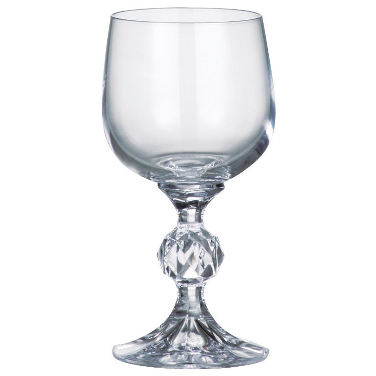 Набор бокалов для вина Bohemia Crystal Клаудия, 230 мл, 6 шт. 40149/230 набор бокалов для вина bohemia crystal attimo 500 мл 6 шт