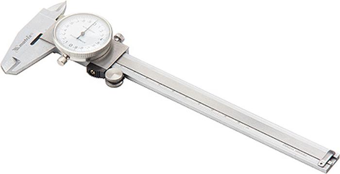 Штангенциркуль Matrix, стрелочный, 15 см штангенциркуль стрелочный matrix 150 мм 31601