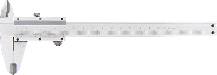 Штангенциркуль Matrix, с глубиномером, 15 см