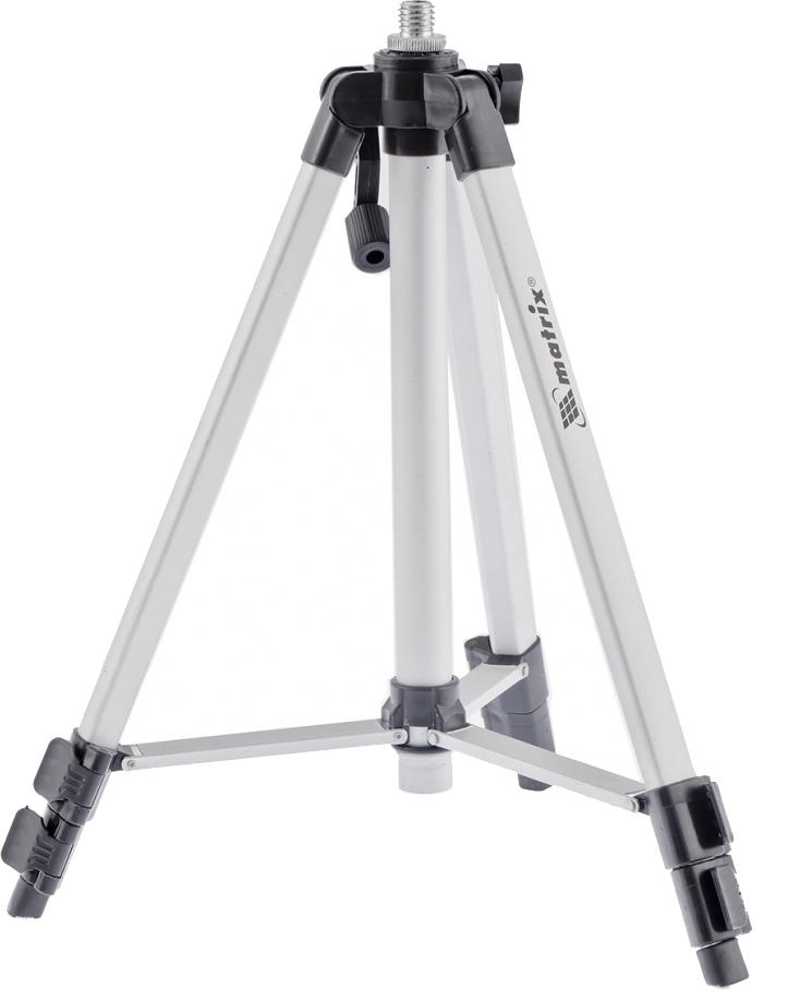 Штатив для лазерного уровня Matrix, с адаптером 5/8-1/4, 1100 мм