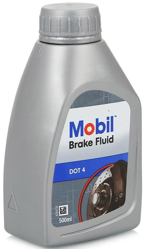 Фото - Тормозная жидкость Mobil Brake Fluid DOT4, 500 мл тормозная жидкость rosdot тс dot 4 430140001 455 г