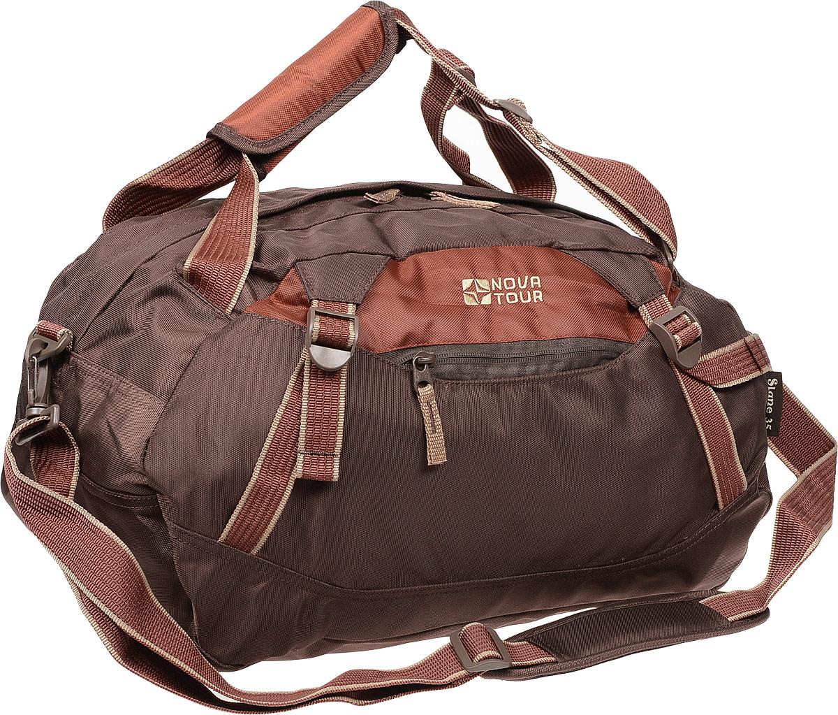 Сумка дорожная Nova Tour Слейн, цвет: коричневый, 35 л цена