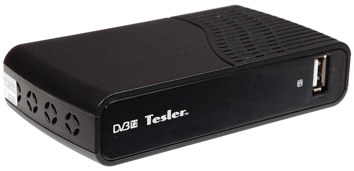 Tesler DSR-320 цифровой телевизионный ресивер DVB-T2 недорго, оригинальная цена