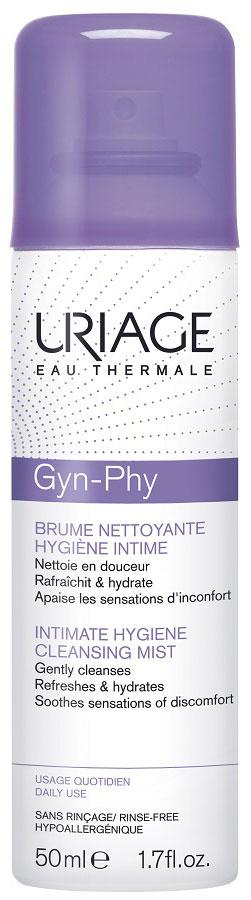 Uriage Очищающая дымка-спрей для интимной гигиены Жин-Фи, 50 мл lactacyd мусс для интимной гигиены femina 150 мл