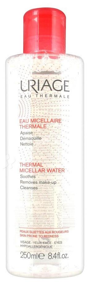 Uriage Мицеллярная вода очищающая для чувствительной кожи, 250 мл мицеллярная вода для лица uriage 250 мл очищающая без ароматизаторов