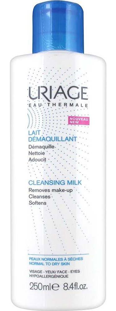 Uriage Очищающее молочко для снятия макияжа, 250 мл