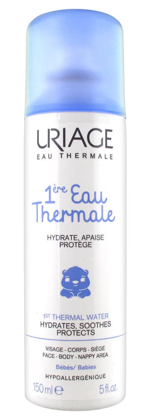 Uriage Термальная вода Bebe, 150 мл термальная вода для лица виши