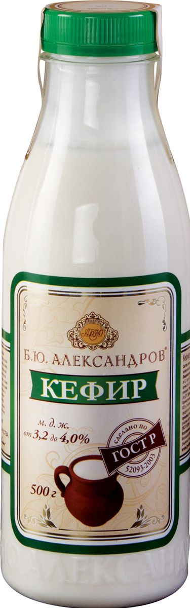 Б.Ю.Александров Кефир 3,2-4%, 500 г