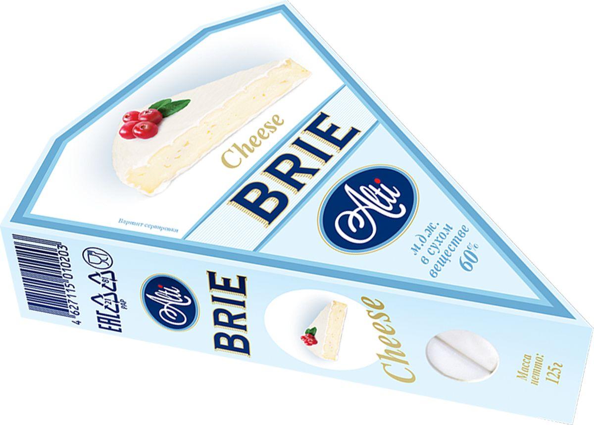 Alti Сыр Бри 60% треугольный, 125 г цена 2017