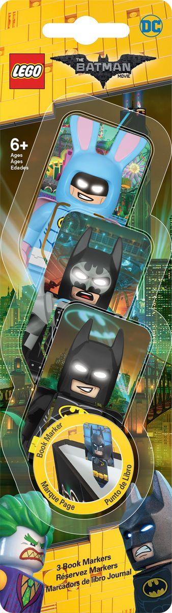 LEGO Набор закладок для книг Batman Movie 3 шт набор сундучков roura decoracion 3 шт 34783