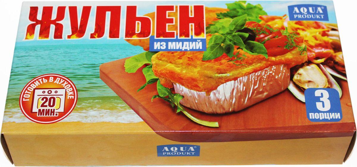 Аквапродукт Жюльен из мидий, 230 г аквапродукт улитки в раковине версаль 150 г