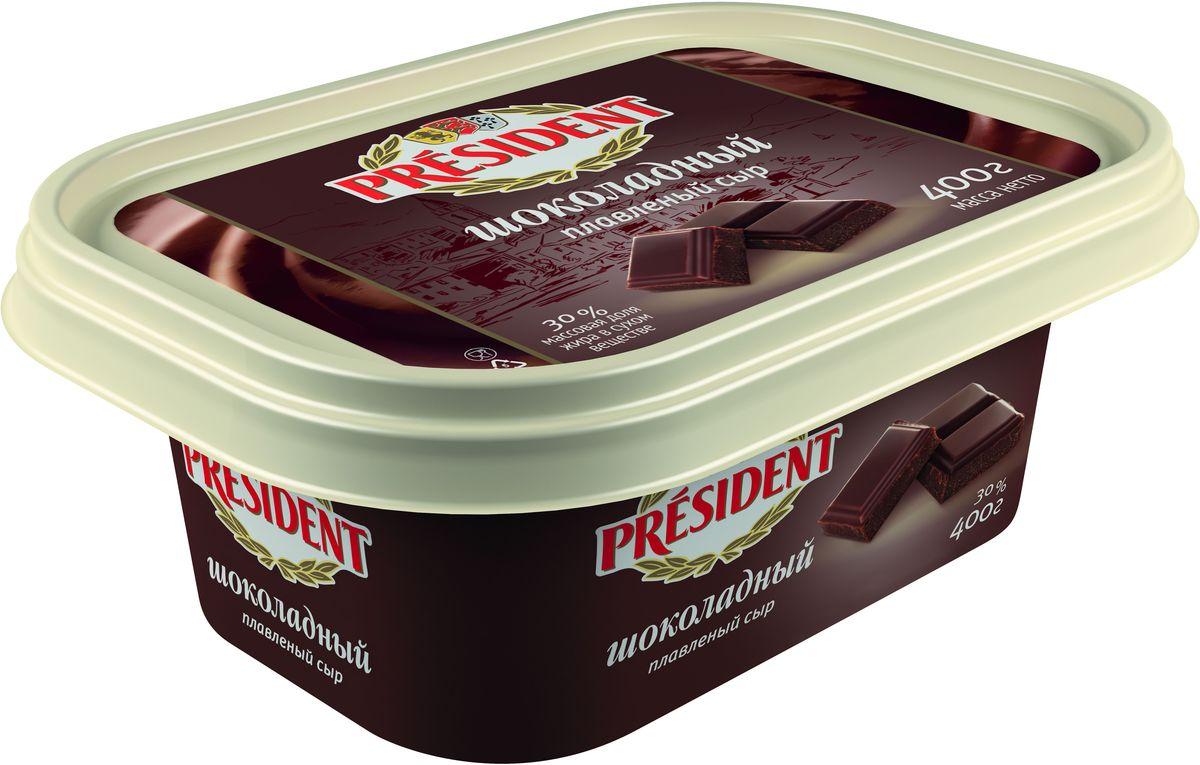 President Сыр Шоколадный плавленый 30%, 400 г